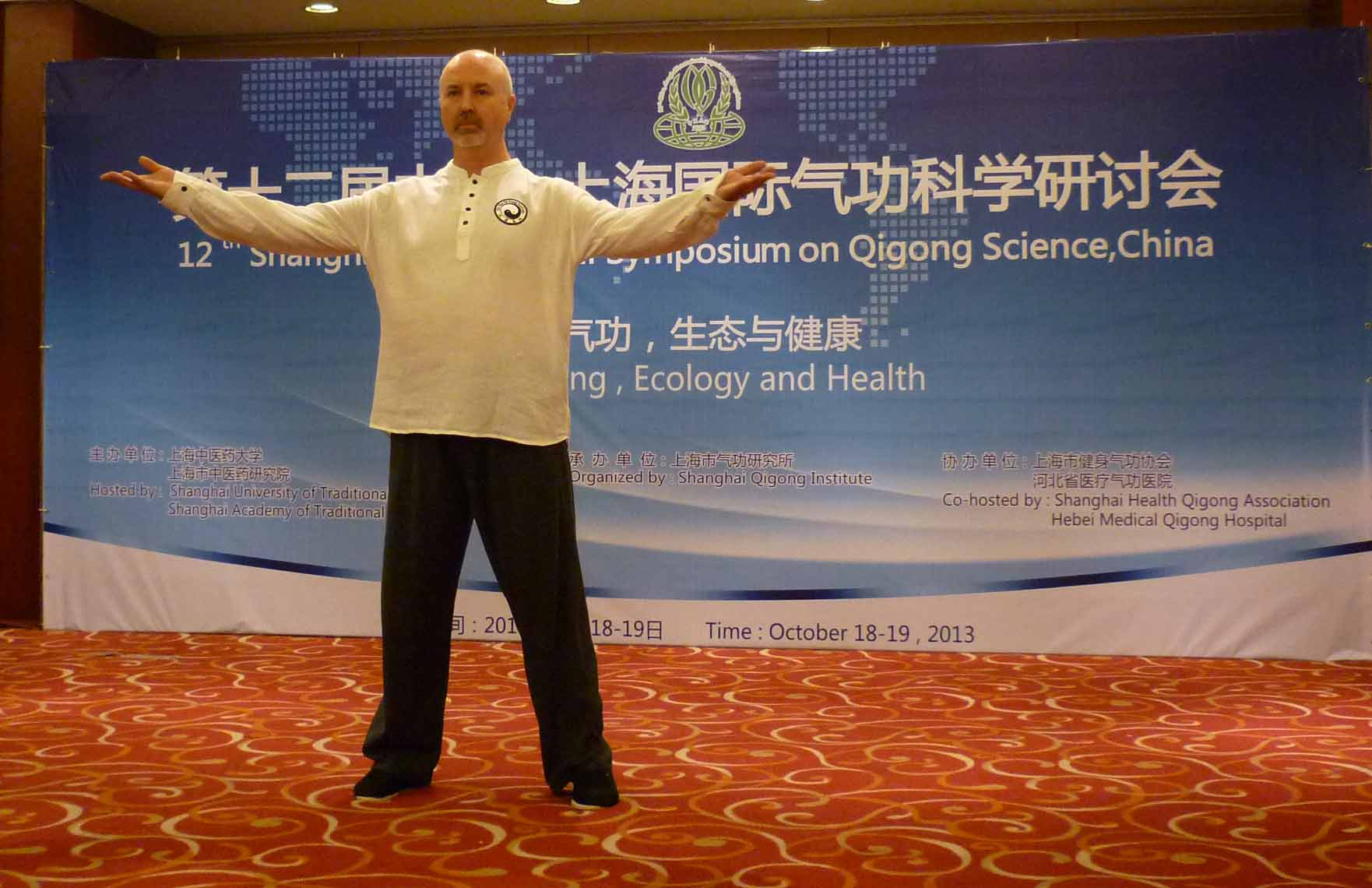 Simon Blow at Qigong Conference